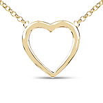 14K Yellow Gold Plated 6.50 Grams .925 Sterling Silver Pendant