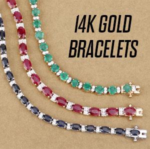 8.75 Carat Genuine Tanzanite .925 Sterling Silver Bracelet