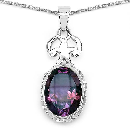 26.66 Carat Genuine Amethyst .925 Sterling Silver Ring, Pendant and Earrings Set