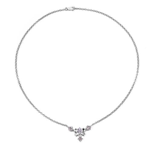 0.74 Carat Genuine Tanzanite .925 Sterling Silver Pendant